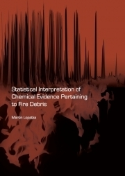 Statistical interpretation of chemical evidence pertaining to fire debris